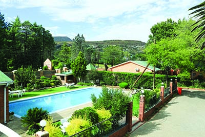 LAY YOUR HAIR DOWN AT HOTEL MOUNT MALUTI